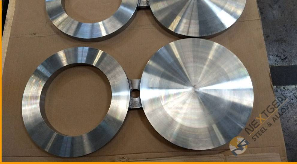 SS Spectacle Blind Flanges